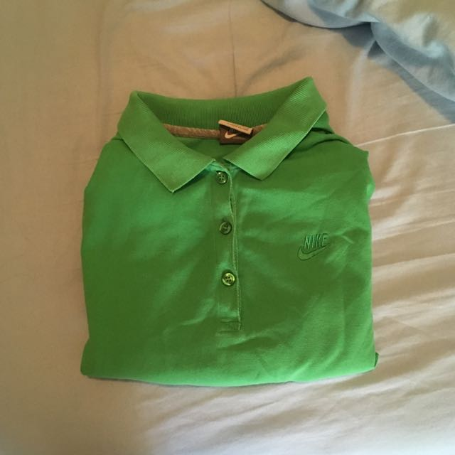 Green Nike Polo