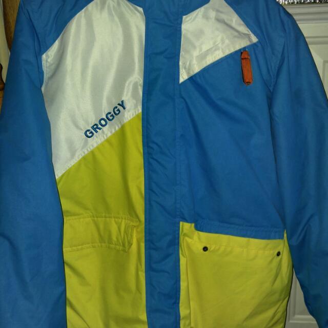 Groggy Snow Pants And Jacket