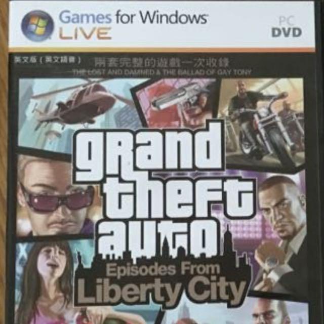 GTA4俠盜獵車手自由城