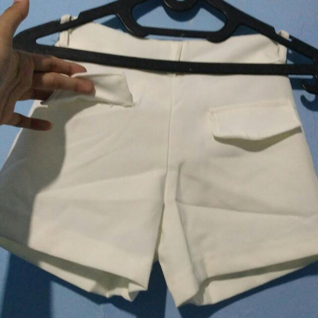 hotpants white