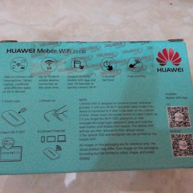 Huawei Mobile Wifi (Mifi) E5330 Unlock MURAH FREE SHIPPING