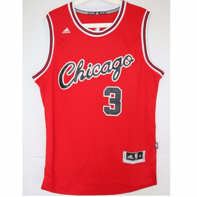 f3599216d31 NBA Swingman Jersey Dwyane Wade Chicago Bulls  3 Red Alternate ...