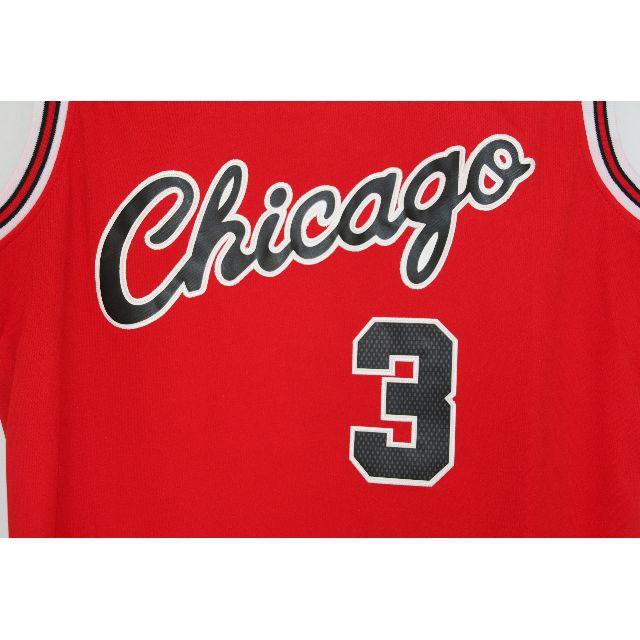 new style 837ce 7130d NBA Swingman Jersey Dwyane Wade Chicago Bulls #3 Red ...