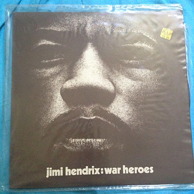 Jimi Hendrix: War Heroes
