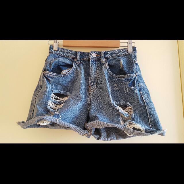 Ladies Shorts - Denim Boyfriend - Size 8
