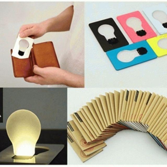 Lampu Kartu LED Tipis Bisa Masuk Dompet / Emergency Lamp