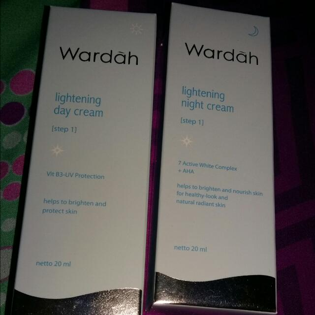 Lightening Day And Night Cream Wardah 20 ml