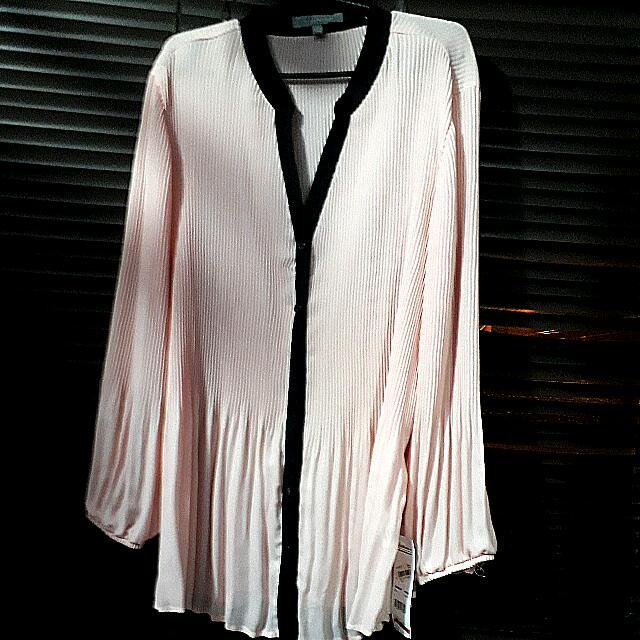 long sleeves chiffon blouse ny collection