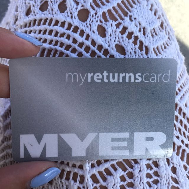 Meyers Gift card With $95