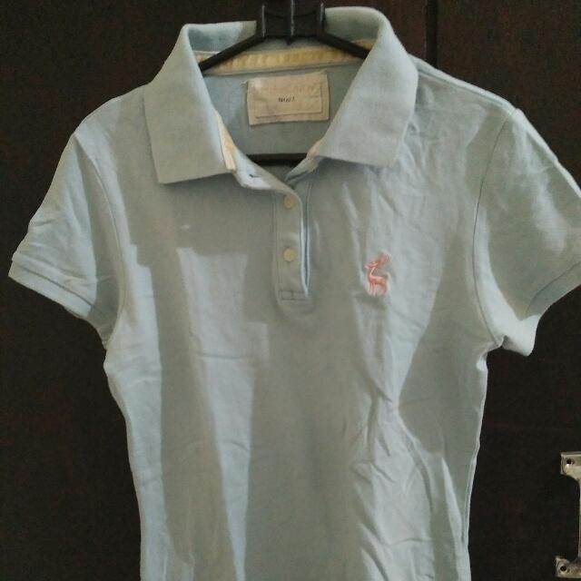 Miss Cindy Blue Polo Shirt
