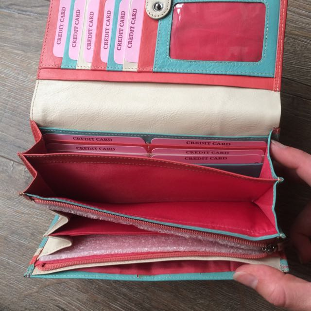 Modapelle Leather Wallet