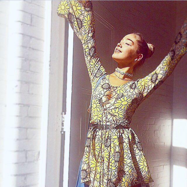 My Sunday Feeling Sunflower Dress