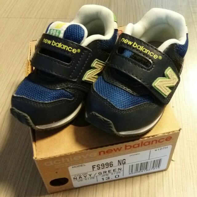 New balance 童鞋(9成9新品)