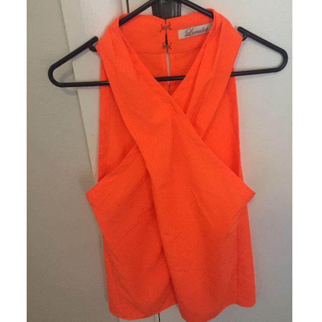 Orange top (S)