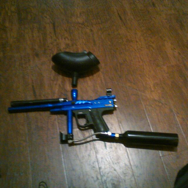 PMI Piranha Force Paint Ball Gun