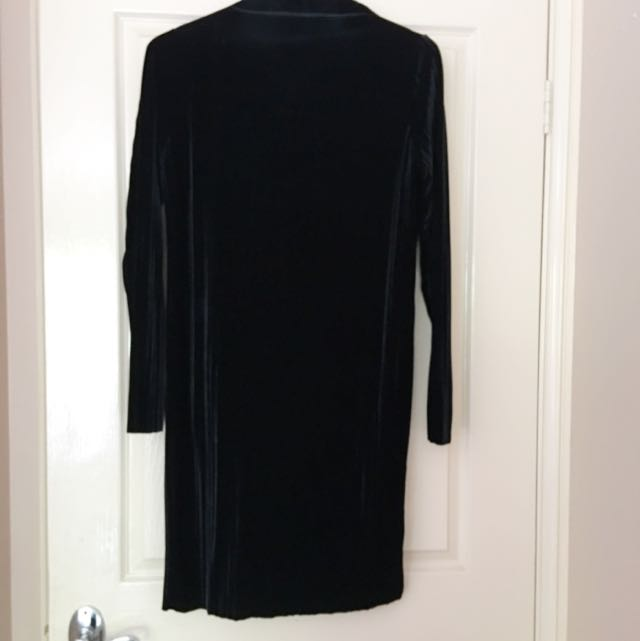 Princess Polly Long Sleeve Velvet Dress