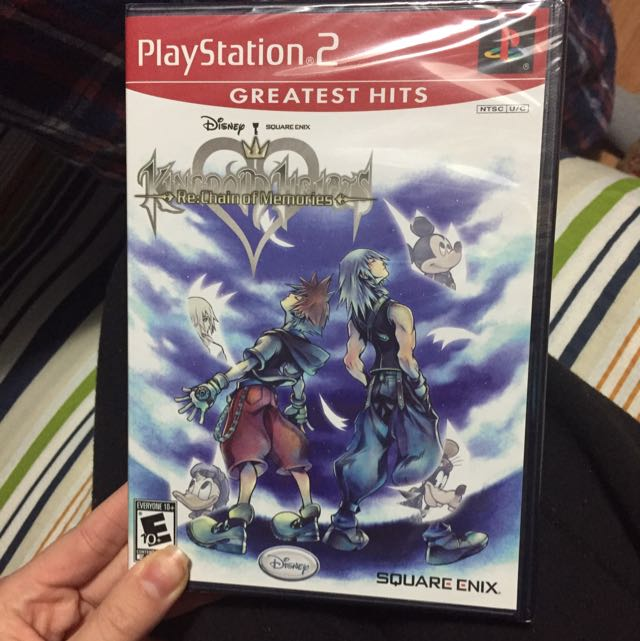 Ps2 Kingdom Hearts Re Chain Of Memories