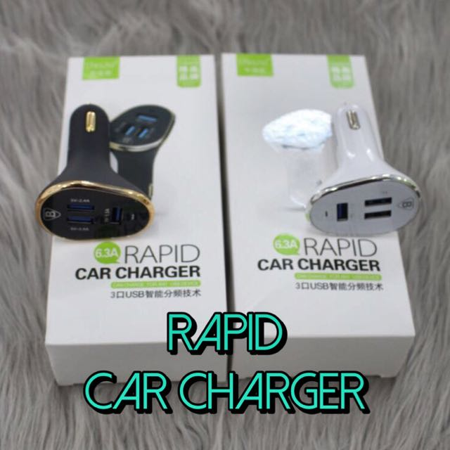 Rapid Car Charger