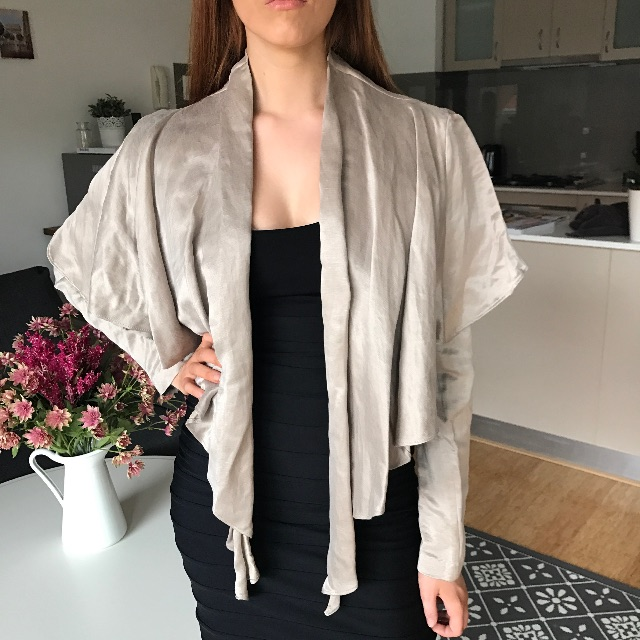 Sass + Bide 12 Linen and Silk Jacket