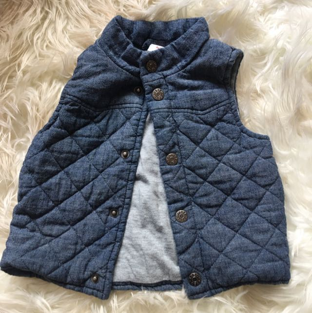 Seed Baby Vest Coat