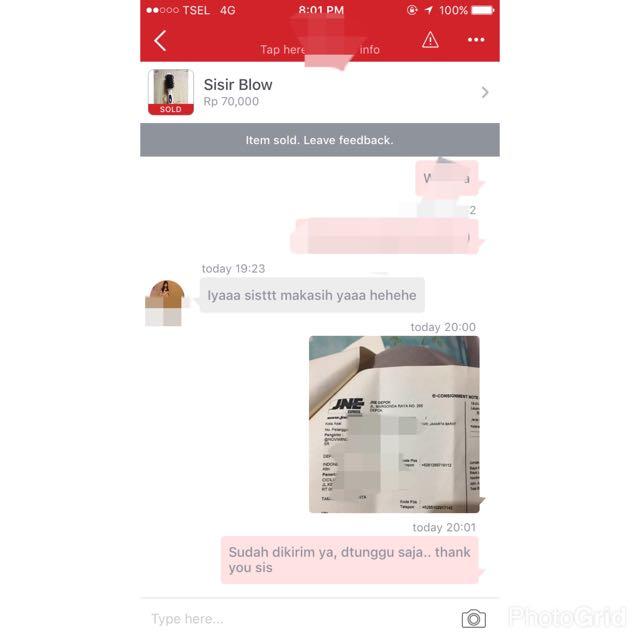Sent To Customer 😊