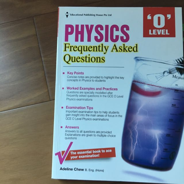 SINGAPORE O LEVEL PHYSICS