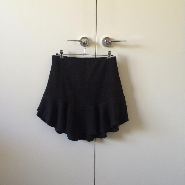 Sportsgirl black flare skirt
