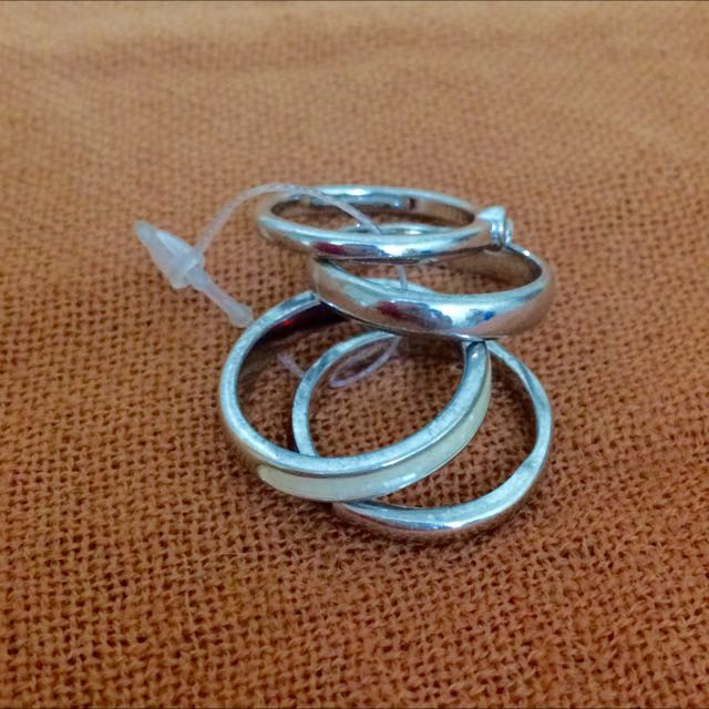STAINLESS SET RINGS