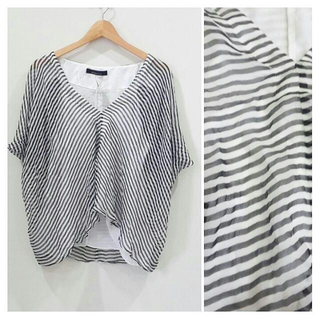 Stripes Blouse (Cakep Banget Dipake)