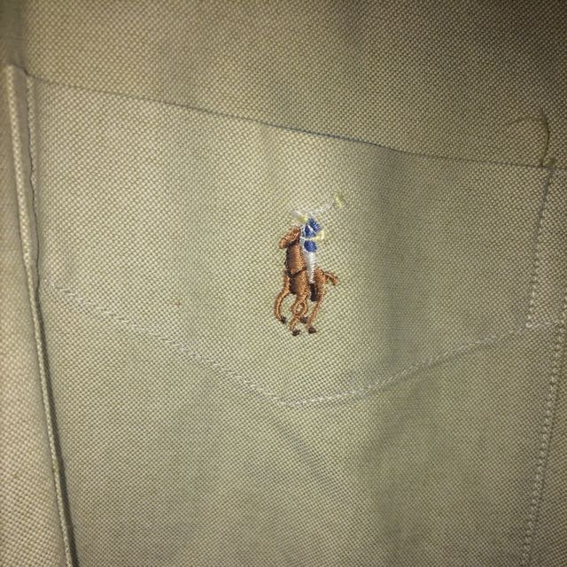 Tan Polo Button Up