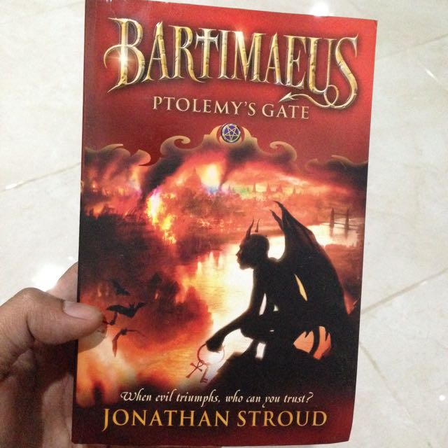 The Bartimaeus Trilogy - Ptolemy's Gate