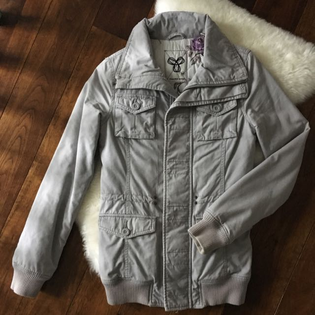 TNA Light Grey Jacket