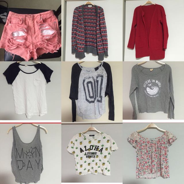 Various Clothes 2 For 10 Or 3 For 12