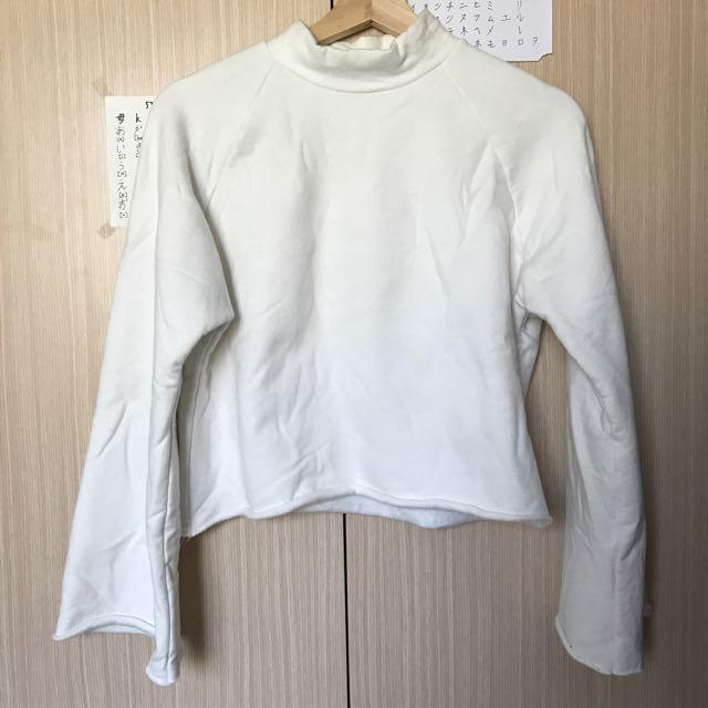 Vii & Co. 小高領寬袖內刷毛上衣