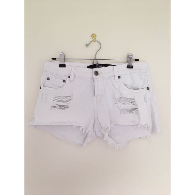 White Factorie Shorts