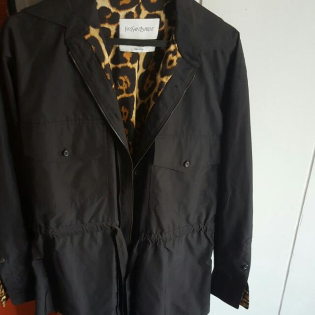 0efce2d1059 YSL Parka In NERO, Women's Fashion, Clothes, Outerwear on Carousell