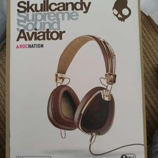 Skullcandy Aviator ROCNATION With Mic3 Headphones