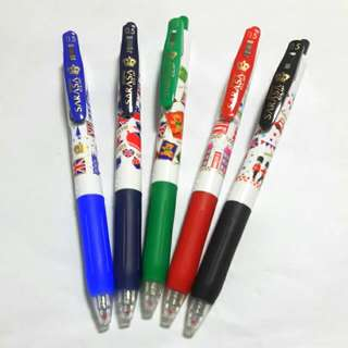 Sarasa Clip Pen London Street 0.5 -5C (Limited Edition) Now Offer 2 Set $13