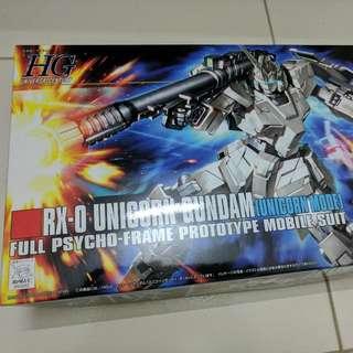 Bandai HG RX-0 Unicorn Gundam