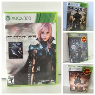 BRAND NEW 360 Games FF, Gears of War, Halo Wars etc..