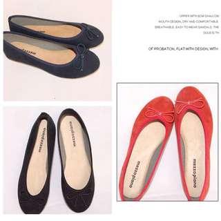 mezzo piano芭蕾平底鞋
