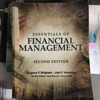 AB1201 Financial management 2nd Edition