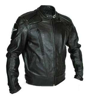 Alpinestars Leather Riding Jacket with Paddings