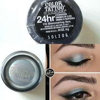 Maybelline Color Tattoo Eyeshadow #Shimmering Sea