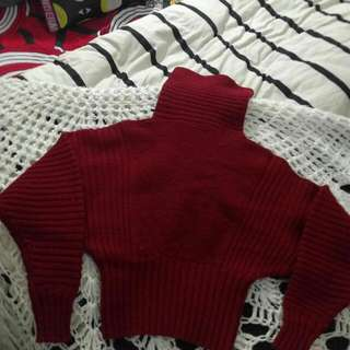 ❤$3 Red Wool Turtleneck ❤