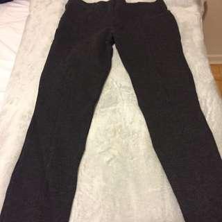 Aritzia Size 4 Charcoal Grey Dress Pants