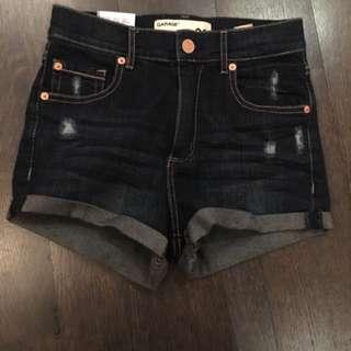 BNWT Garage Denim Shorts