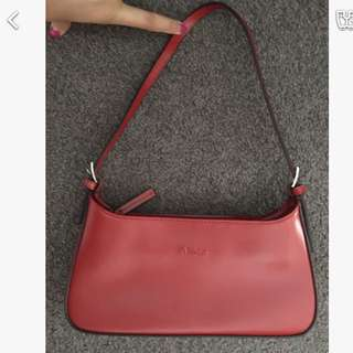 Missco Small Red Bag