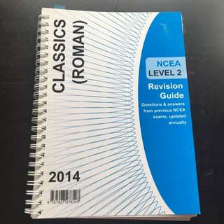 Classics (roman) Ncea Level2