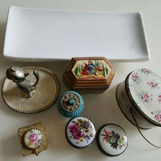 Trinkets And Pill Boxes